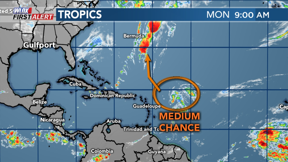 Medium chance for Atlantic system to form