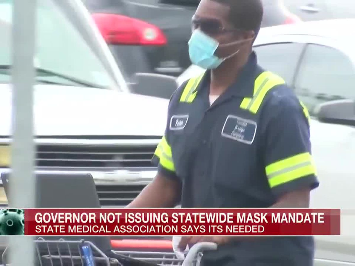 Miss. State Medical Association calls for statewide mask mandate but Governor sticks with current plan