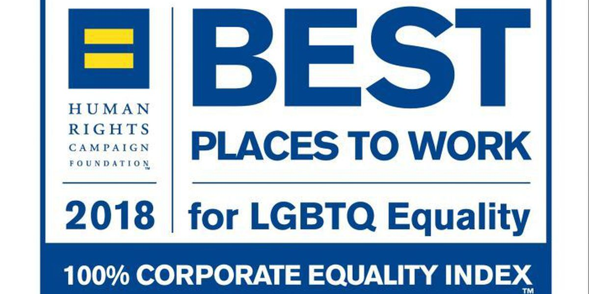 Ingalls recognized for LGBTQ workplace equality