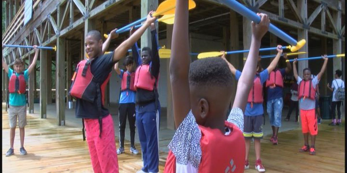 Camp aims to help young men transition to manhood