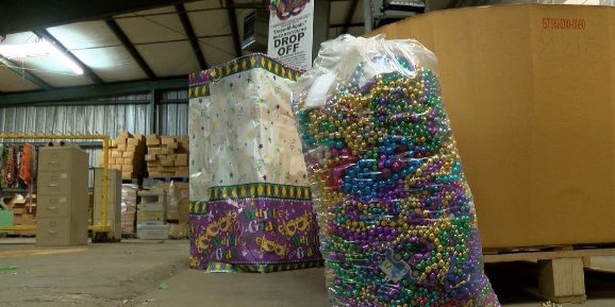 Mardi Gras bead donations now accepted