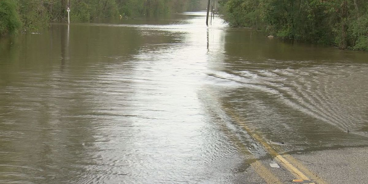 Minor river flooding in Harrison County causes problems