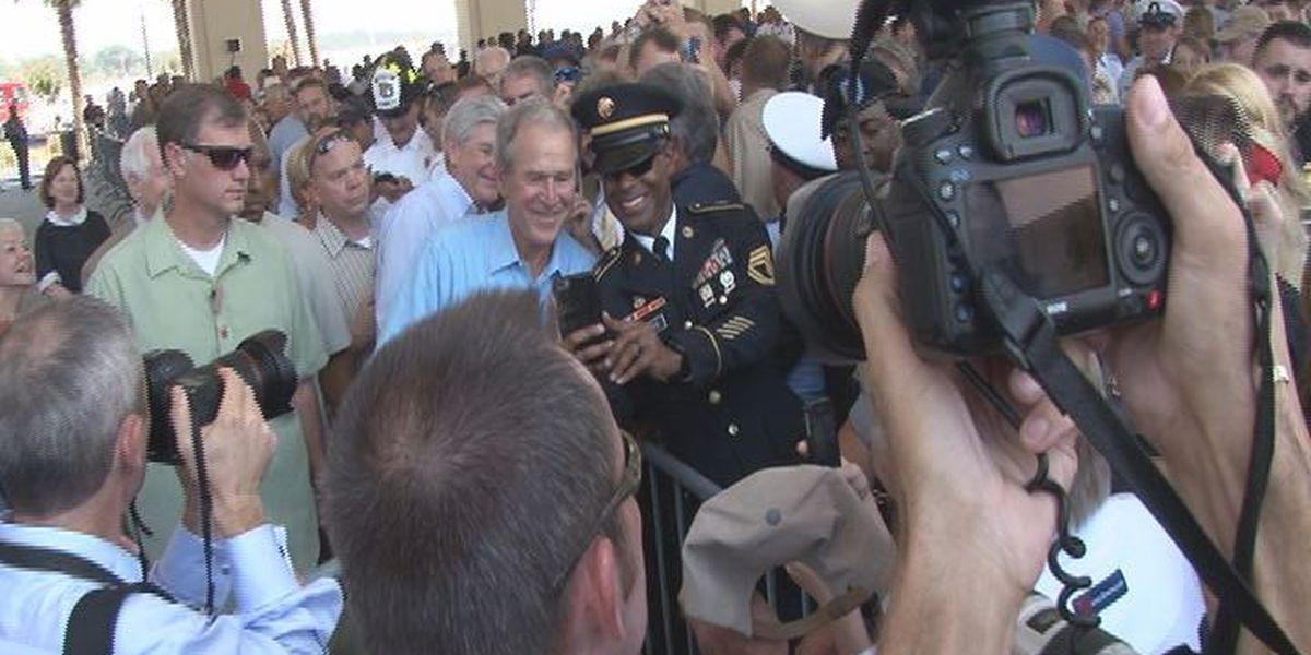 Former President Bush praises Mississippi's hard work and leadership