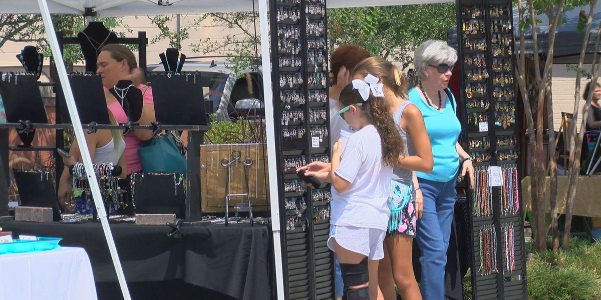 Business booms in downtown Ocean Springs for art walk