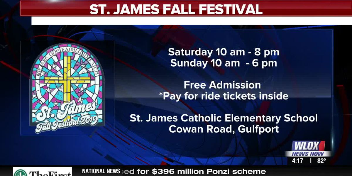 Happening this weekend: St. James Fall Festival