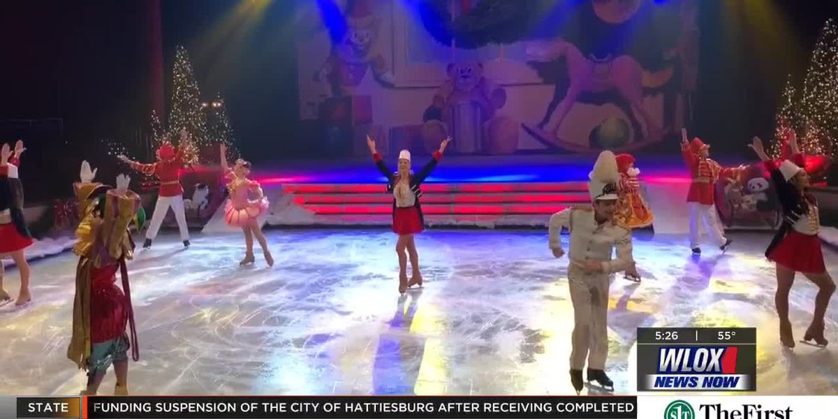 Page 13: Christmas Dreams ice show at Beau Rivage