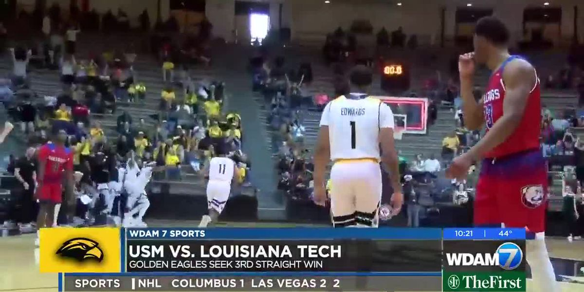 Golden Eagles hold on to beat LA Tech 73-71 in OT