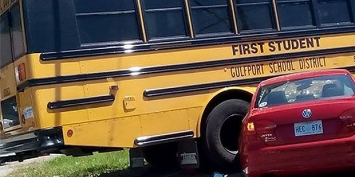 Police: No injuries reported in wreck involving school bus