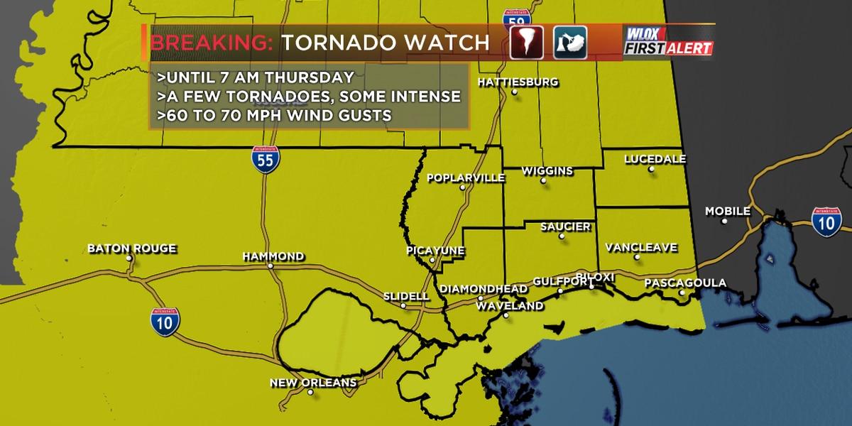 ALERT DAY THURSDAY: Severe threat moves east