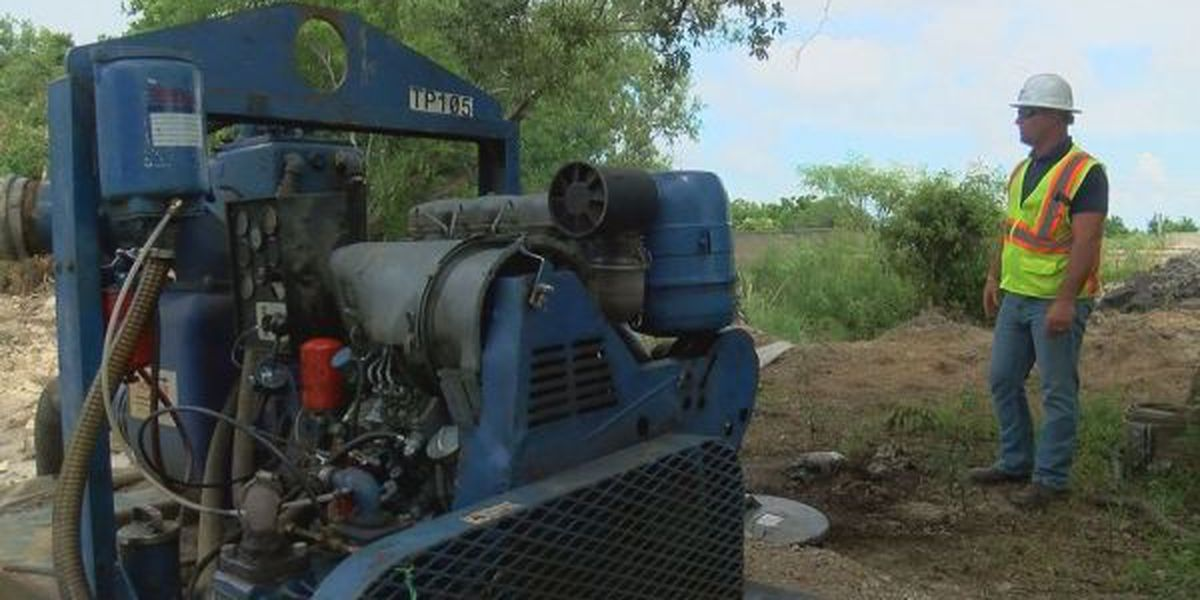 Expected heavy rainfall a nightmare for Biloxi road project