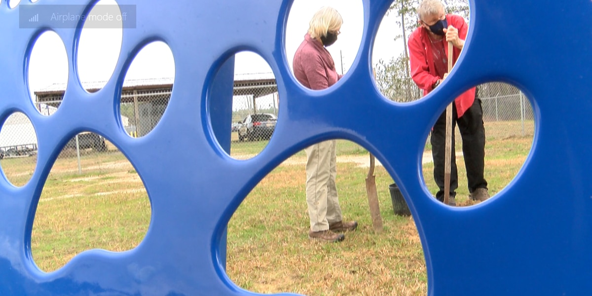 Environmental committee plants trees in Ocean Springs dog park