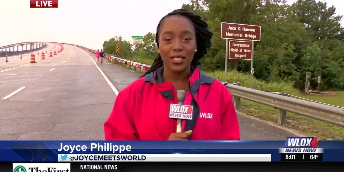 LIVE REPORT: Bras Across the River happening in Moss Point