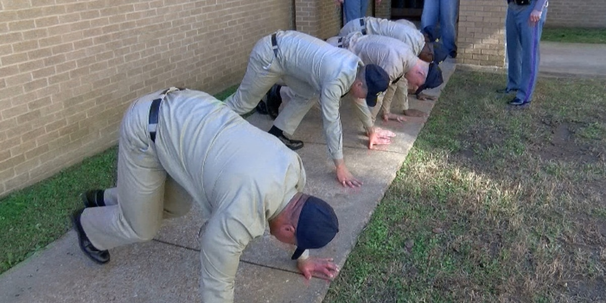 MHP's new recruits begin intense 22-week training to become state troopers