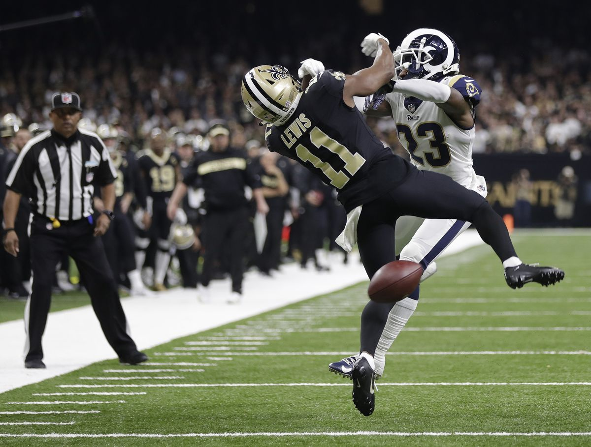 Gas Prices Orleans >> REPORT: Rams defensive back fined for controversial hit on ...