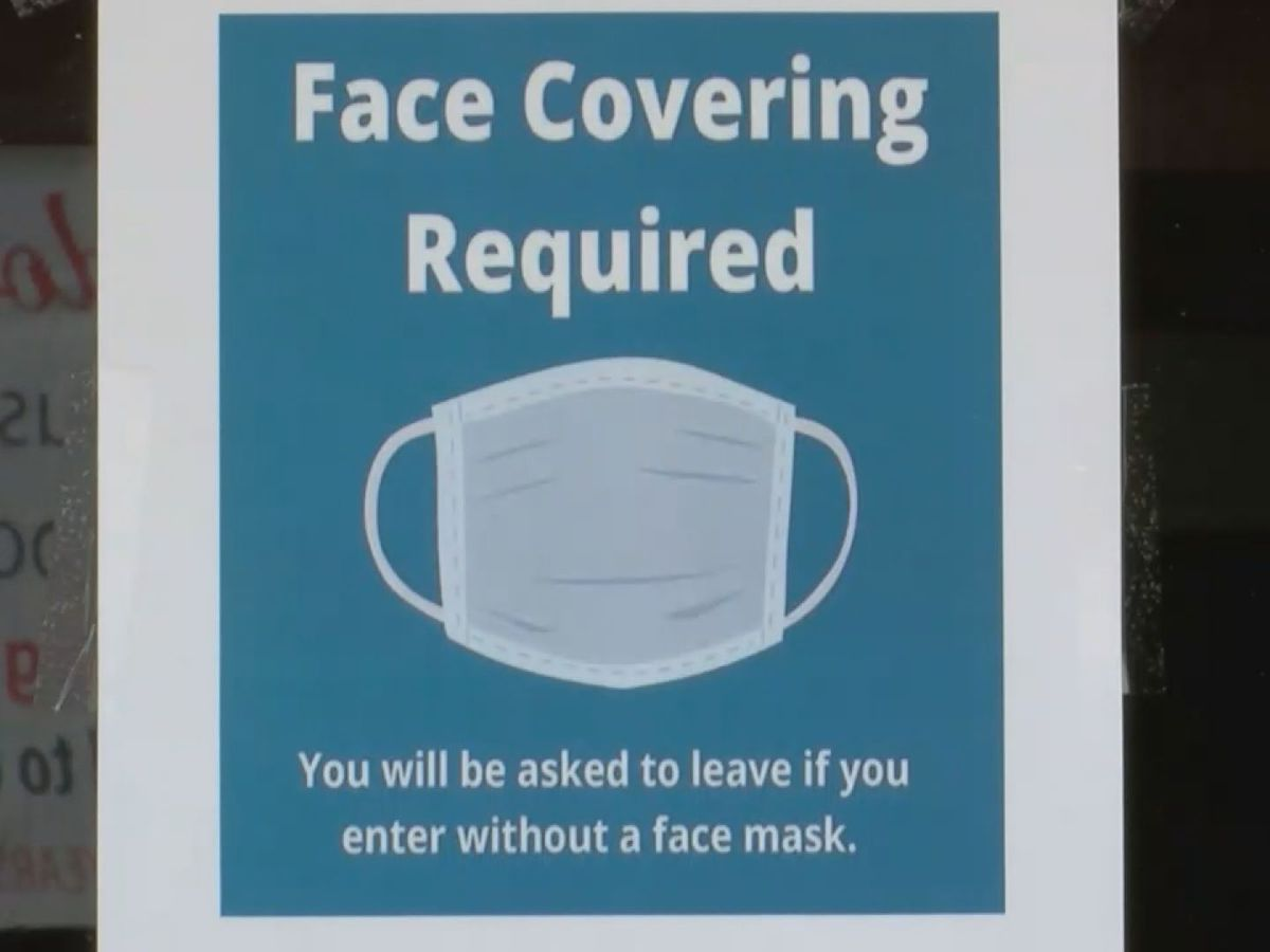 Some Coast cities still requiring masks in municipal offices