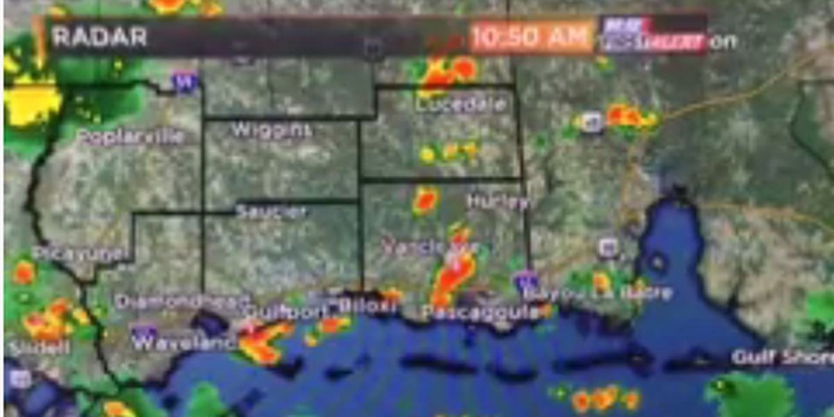 Flash flooding possible in parts of the coast