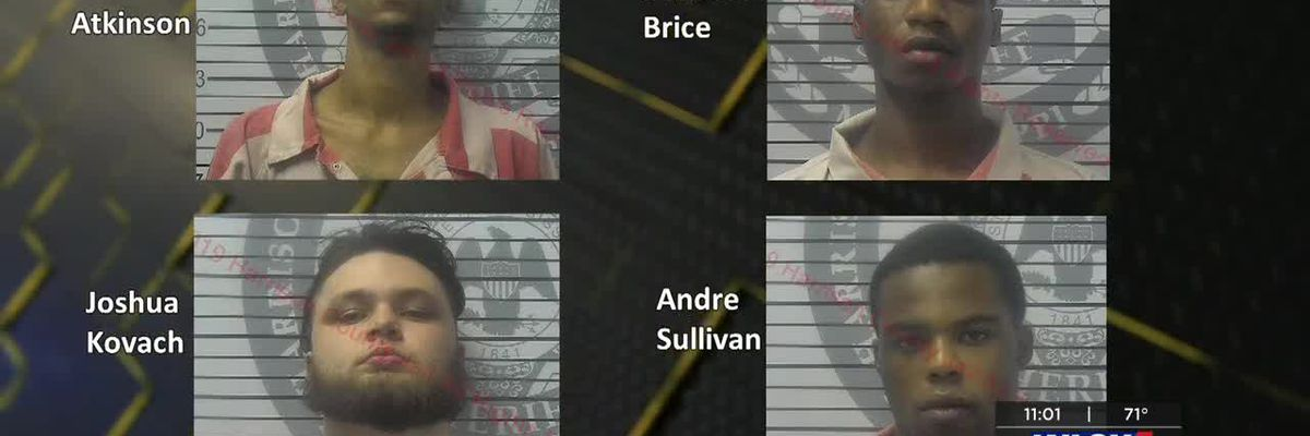 Officials: Three men gave suspect clothes in the hours after Biloxi officer was killed