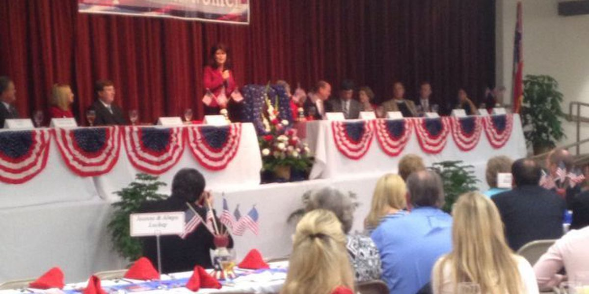 2016 presidential candidates hot topic at Republican luncheon