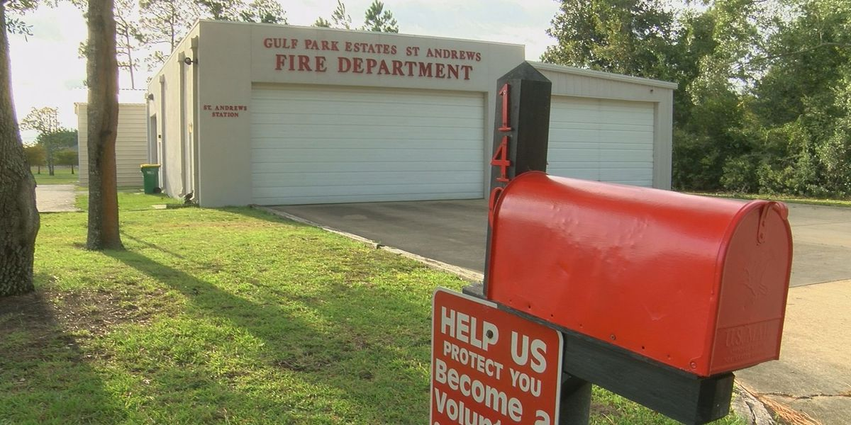 Gulf Park Estates/St. Andrews Fire Department collecting donations for Hurricane Sally victims