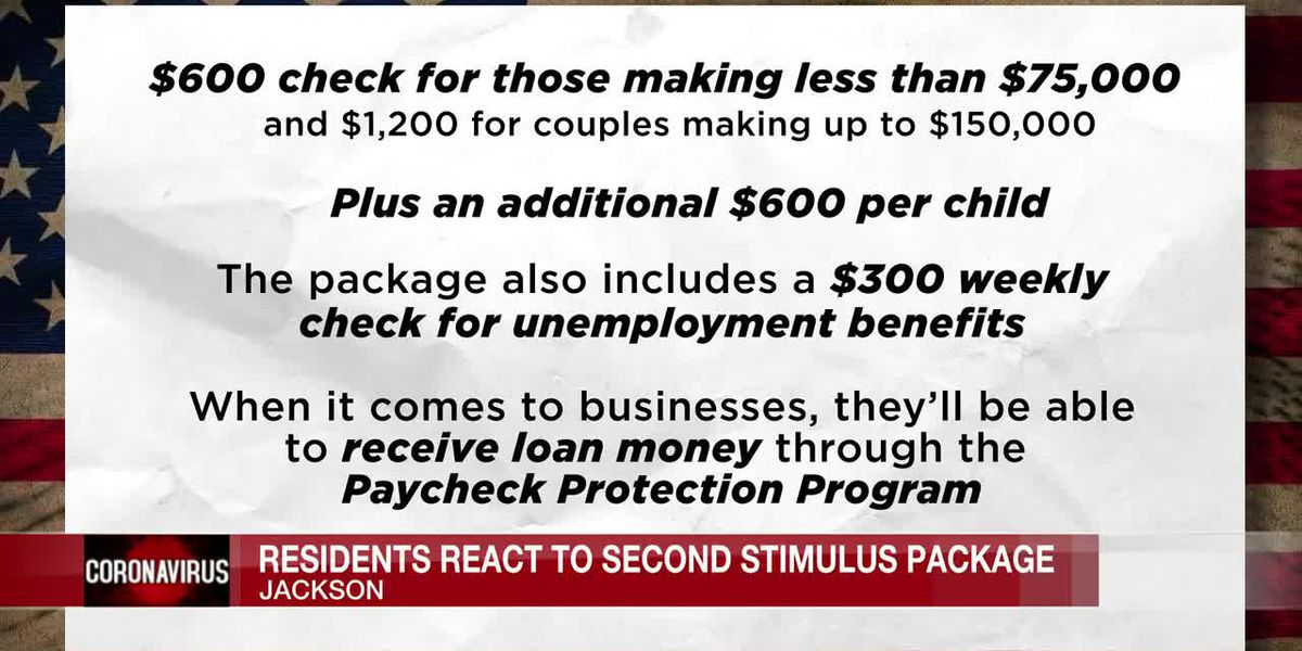 Is a $600 stimulus check enough? Some Mississippi residents say no