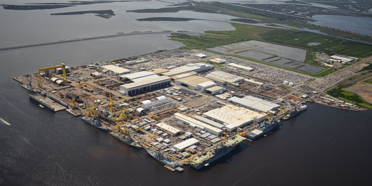 178 cases of COVID-19 reported at Ingalls Shipbuilding; 84 employees cleared to return
