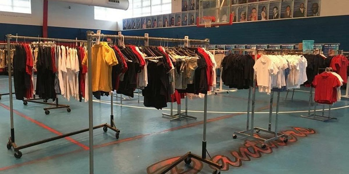 Uniform Closet event gives free uniforms to Jackson Co. students