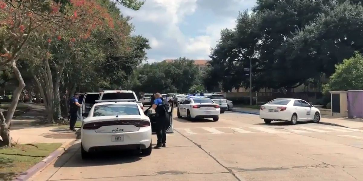 'Very fortunate': LSU responds to false alarm security scare