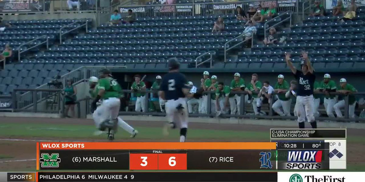 Rice eliminates Marshall 6-3, advances to C-USA Tournament Semifinals