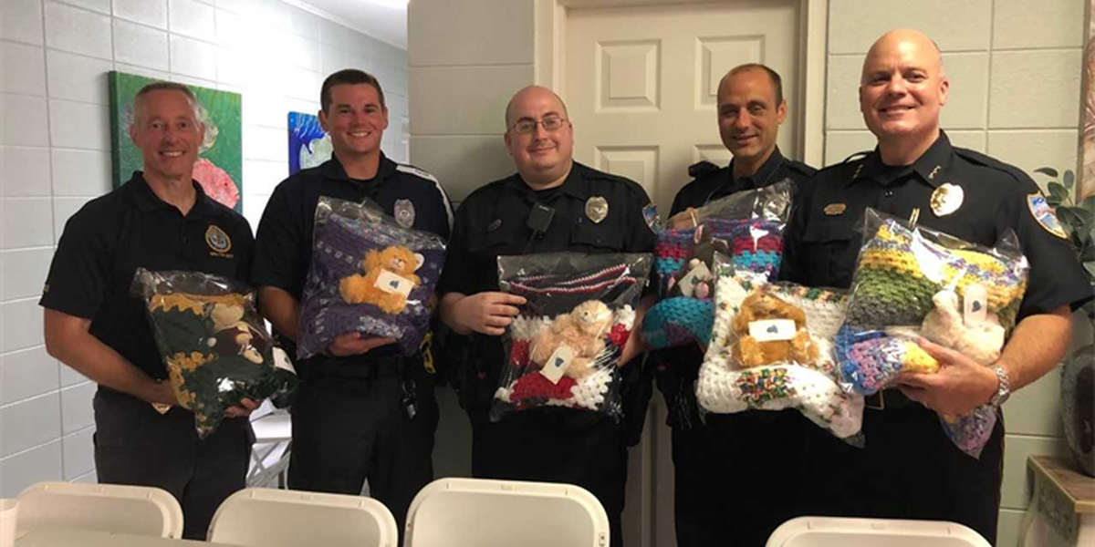 Donation to Pass Christian police will help children in traumatic situations