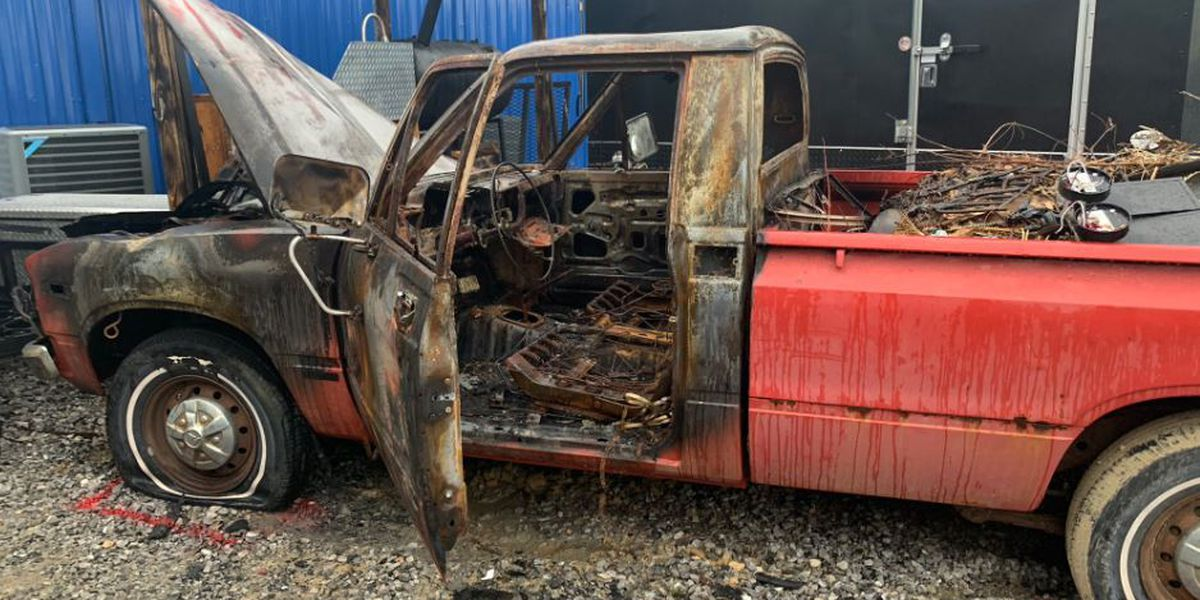 """'Why me?"""" Bay business owner warns others after vehicle fire leads to arson investigation"""
