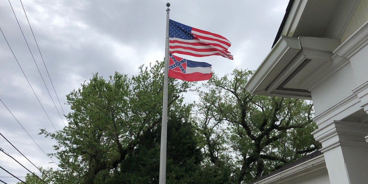 Lawsuit over state flag in Ocean Springs moves forward
