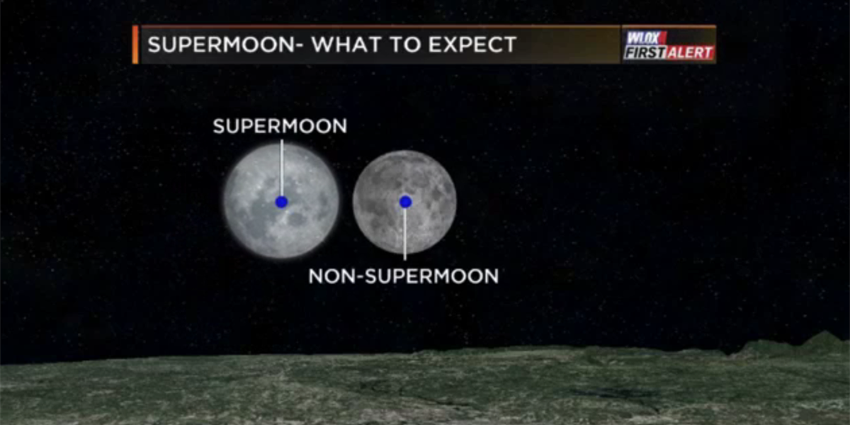 A bird, a plane, it's supermoon this weekend