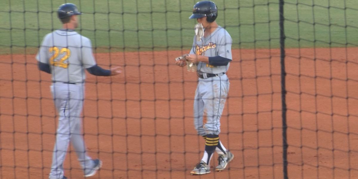 Biscuits hold off Shuckers after two teams combine for 12 runs in first inning
