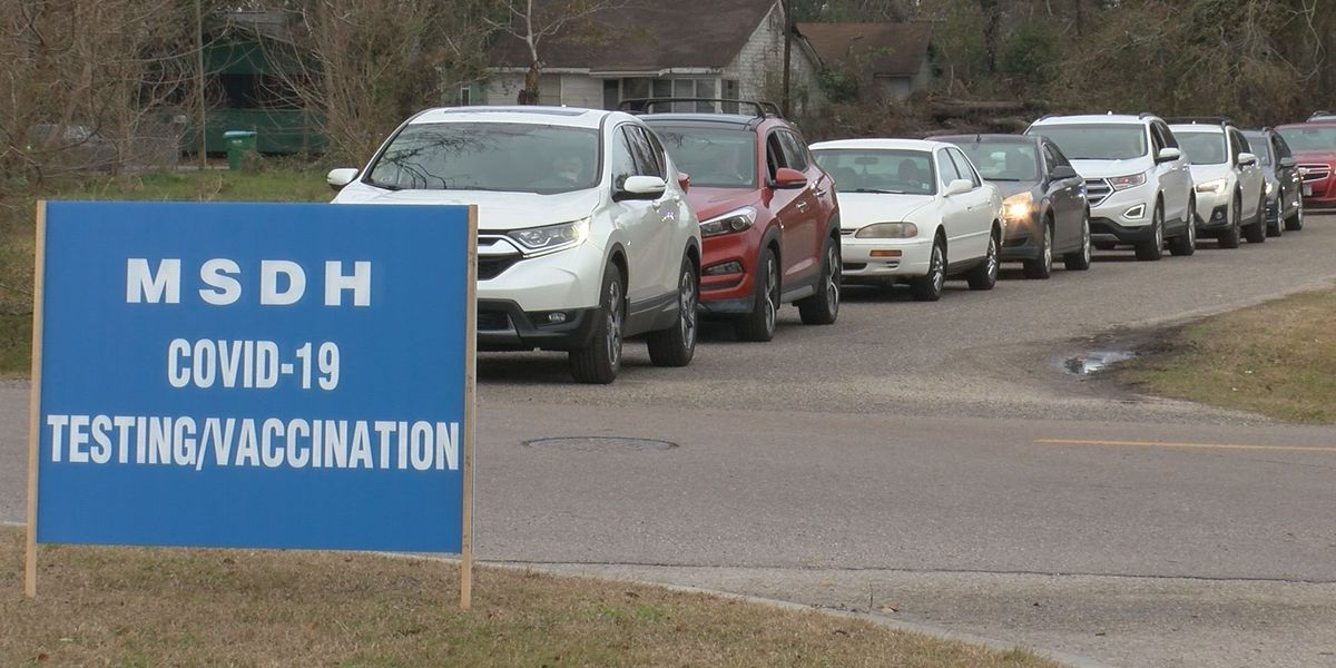 Patients see long waits for COVID-19 vaccine at Harrison County Health Department