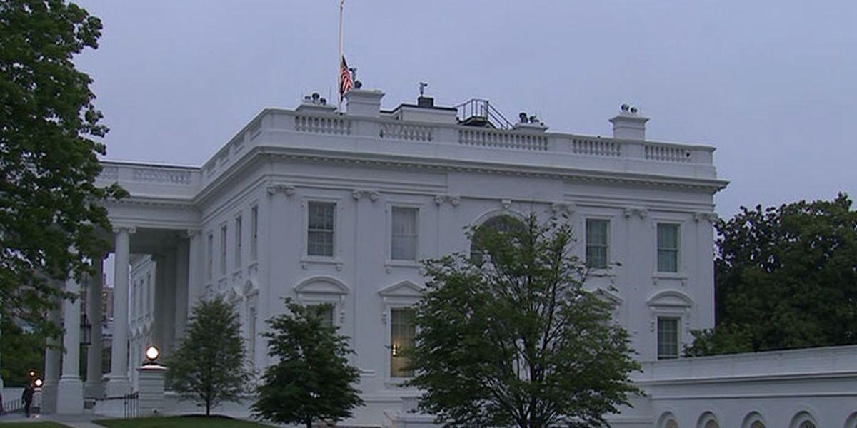 Trump orders flags at half-staff in memory of coronavirus victims