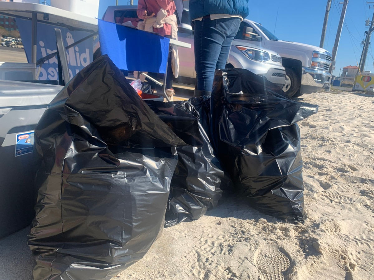 Volunteers take pride in keeping beaches clean for Mississippi Coastal Cleanup