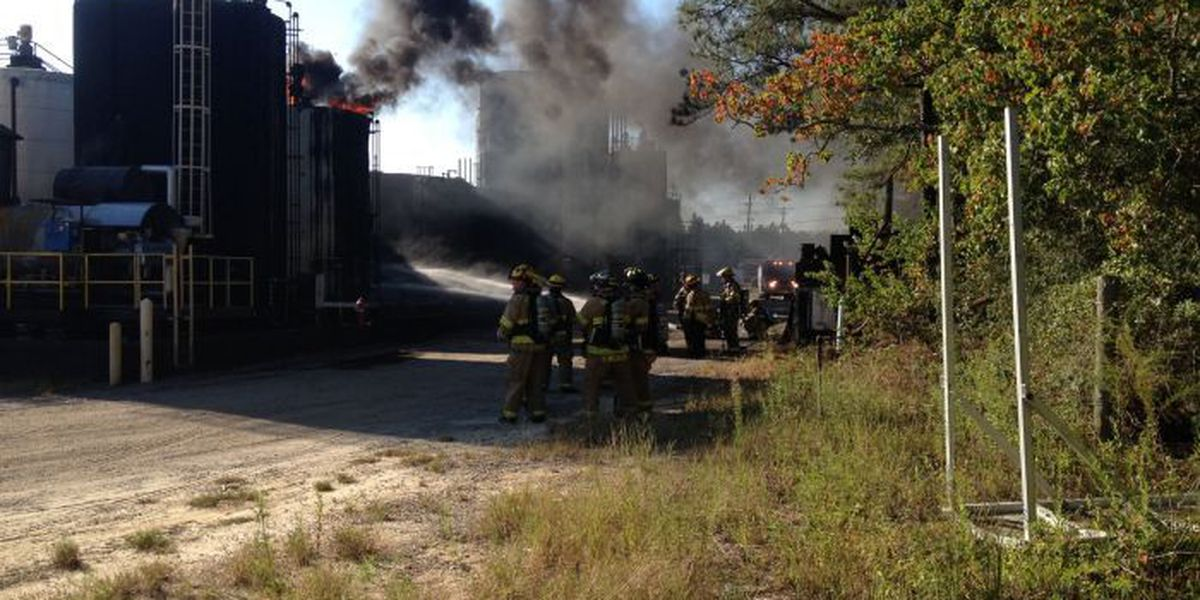 GFD responds to Sunday morning storage tank fire