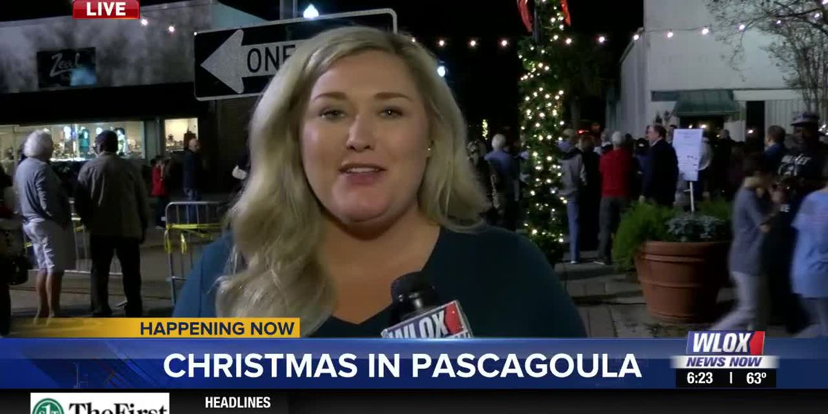 LIVE REPORT: Pascagoula kicks off the holiday season