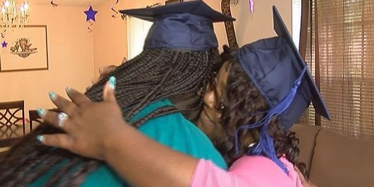 Mother, daughter graduate together from MGCCC