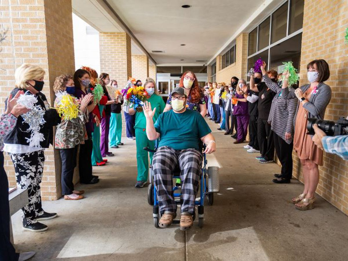 UMMC's 1,000th hospitalized patient with COVID-19 safely discharged home