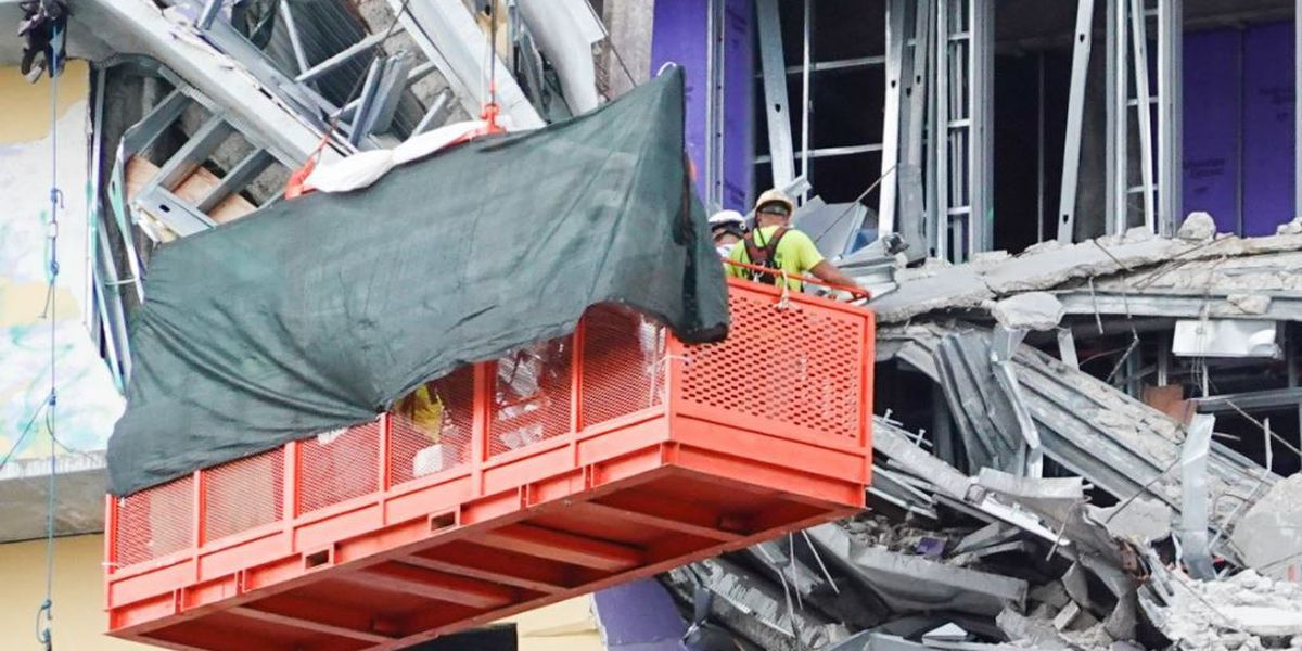 VIDEO: Efforts now turn to recovery of Jose Ponce Arreola at collapsed hotel site