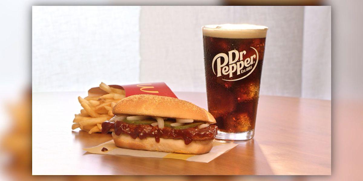 McDonald's to bring back the McRib nationwide