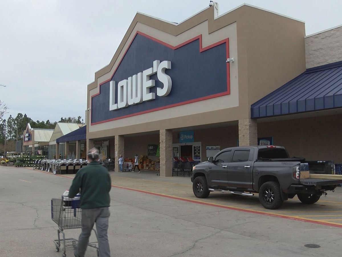 Shoppers rush to hardware stores to buy supplies to cleanup after Zeta