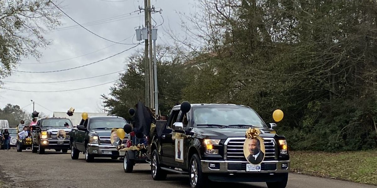 Wiggins streets filled with parade-goers honoring Dr. Martin Luther King Jr.