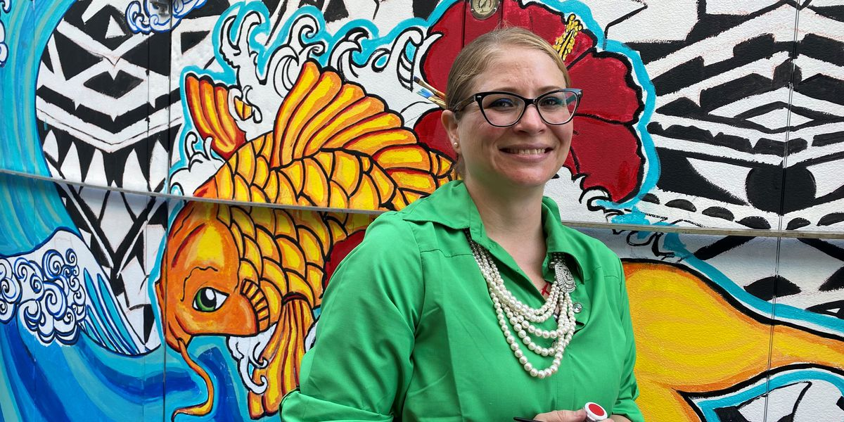 Part-time muralist receives $500 Mississippi Art Commission grant for supplies