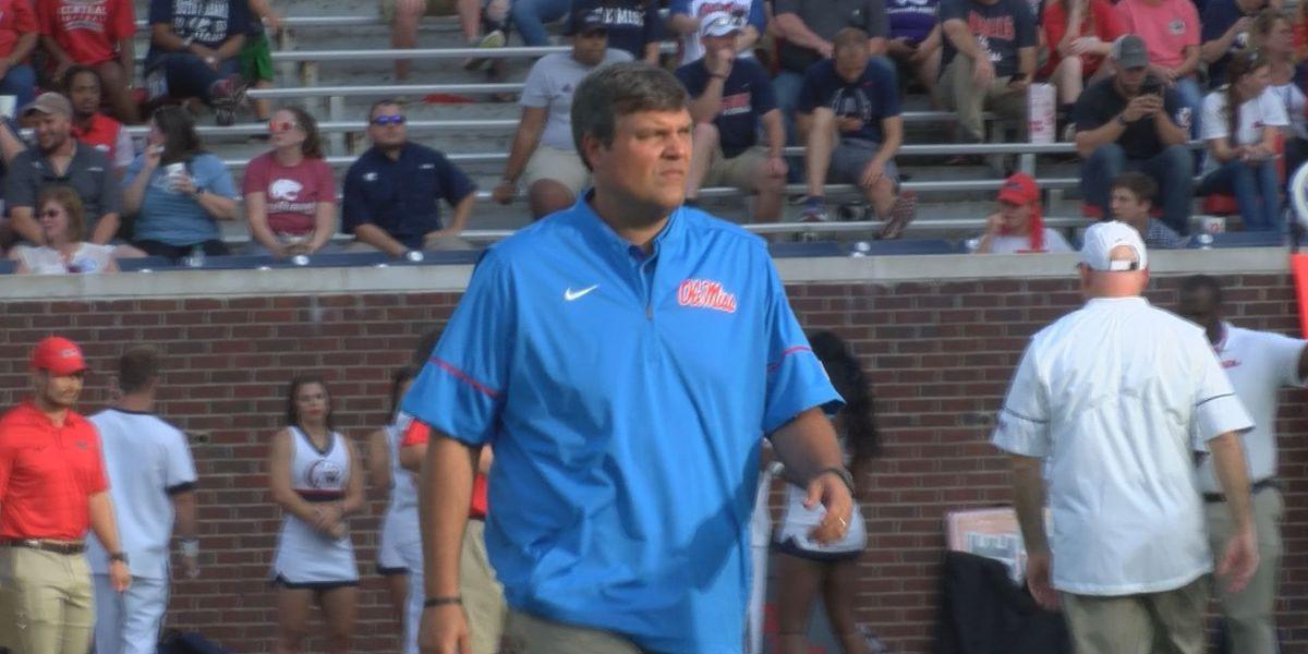 Ole Miss head coach Matt Luke says his dad, Tommy, is his hero