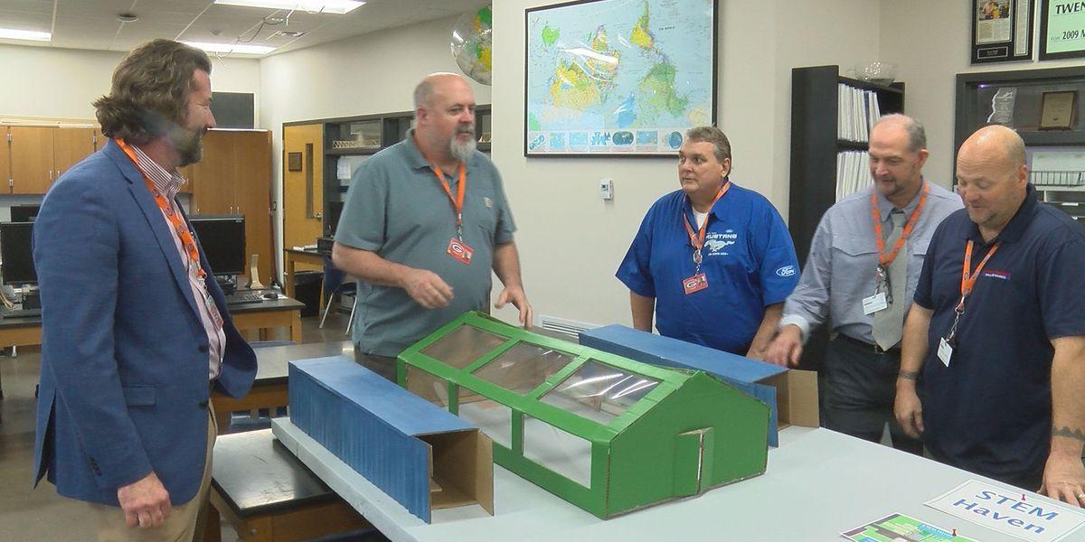 Gulfport High School STEM outdoor learning area considered for BP settlement funding