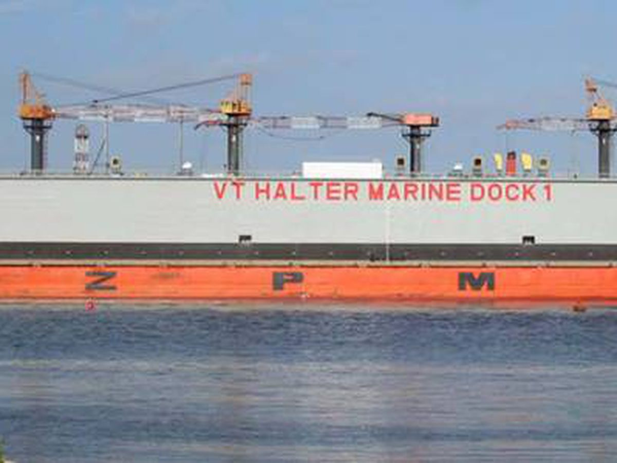VT Halter Marine getting $78 million contract from U.S. Navy