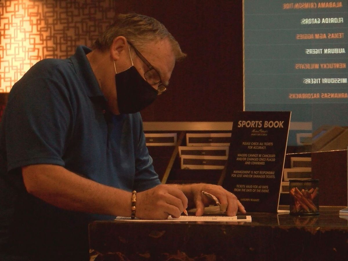 Return of football brings big bucks to Coast sportsbooks