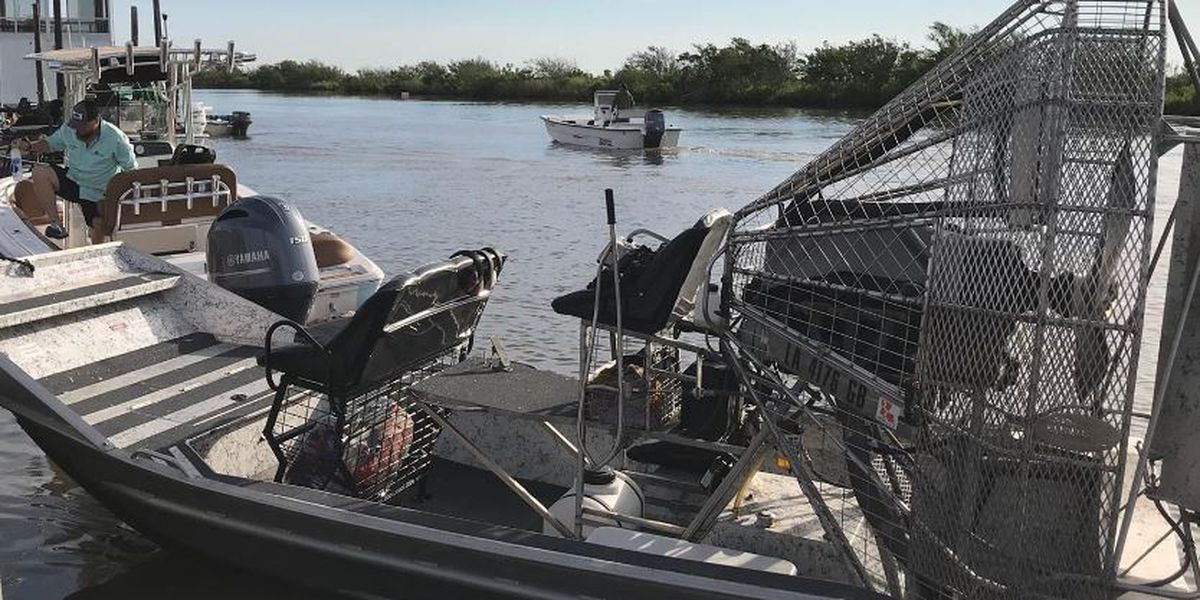 VIDEO: United Cajun Navy ramps up search efforts; life vests, hard hats recovered in Chauvin, La.